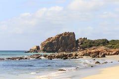Schlossfelsen aufgestellt in West-Australien Stockfotografie