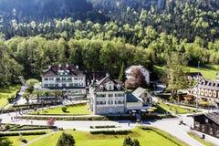 Schlosshotel Lisl and Villa Jagerhaus in Bavaria Stock Image