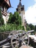 Schlosskanone Lizenzfreie Stockbilder