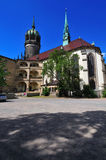 Schlosskirche Wittenberg Stock Afbeeldingen