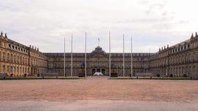 Schlossplatz στη Στουτγάρδη, Γερμανία στοκ εικόνες με δικαίωμα ελεύθερης χρήσης