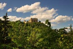 Schlossruinen in Boskovice Lizenzfreies Stockbild