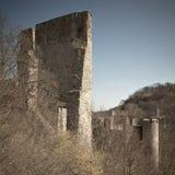 Schlossruinen von Cornstejn Stockbilder
