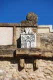 Schlossskulptur auf Giants-Bogen, Antequera Stockfoto