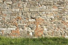 Schlosssteinwand lizenzfreie stockfotografie