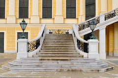 Schlosstreppen Stockfoto