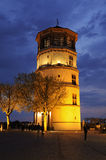 Schlossturm D?uesseldorf, Duitsland Royalty-vrije Stock Foto's