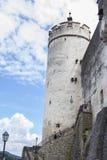 Schlossturm Salzburgs Hohensalzburg Stockfotos