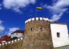 Schlossverstärkung in der Stadt PÃsek Stockfoto