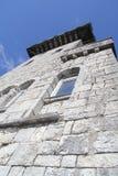 Schlosswand Stockfotos