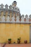 Schlosswand lizenzfreies stockfoto