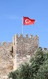 Schlosswand gelegen in Ephesus Lizenzfreies Stockfoto