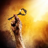 Schlüssel des Erfolgs Stockfotografie