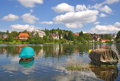 Schluchsee in black forest Stock Images