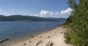 Schluchsee in the Black Forest Stock Images