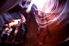 Schlucht der Antilope, Arizona, USA Lizenzfreie Stockfotografie