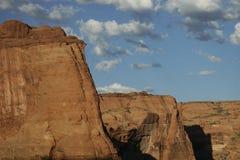Schlucht des roten Sandsteins Stockbilder