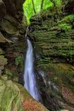 Schlucht Str.-Nectans, Tintagel, Cornwall. lizenzfreies stockfoto