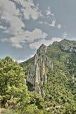 Schlucht von Pierre Lys in Pyrenäen, Frankreich lizenzfreies stockbild