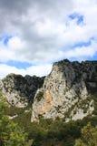 Schlucht von Pierre Lys in Pyrenäen, Frankreich lizenzfreies stockfoto