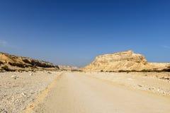 Schlucht von Wadi Ash Shuwaymiyyah (Oman) Lizenzfreies Stockbild