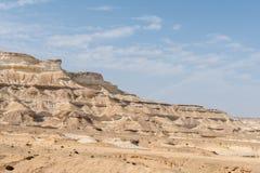 Schlucht von Wadi Ash Shuwaymiyyah (Oman) Lizenzfreie Stockbilder