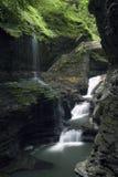 Schlucht-Wasserfall Stockbilder