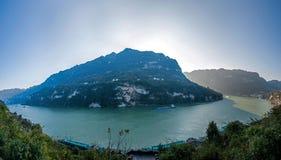 Schlucht Yiling der Jangtse Three Gorges Dengying Lizenzfreies Stockbild