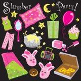 Schlummer-Party! Stockfotos