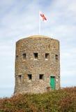 Schlupflochkontrollturm des 18. Jahrhunderts Lizenzfreie Stockfotografie