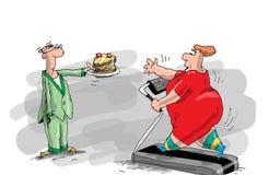 Schlusses Gewicht Lizenzfreies Stockbild
