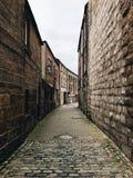 Schmale Straße Stockfotos