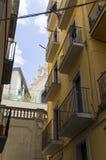 Schmale Straßen der Stadt lizenzfreies stockfoto