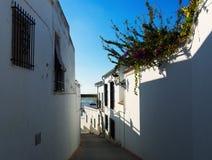 Schmale Straßen in Osuna Andalusien Stockbilder