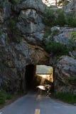 Schmaler Tunnel Stockbild