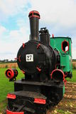 Schmalspurdampflokomotive Stockfoto