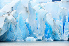 Schmelzen des Gletschers stockbilder