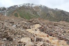 Schmelzen von Gletschern Lizenzfreies Stockfoto