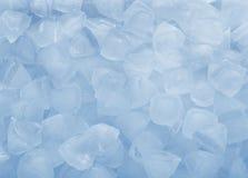 Schmelzende Eis-Würfel Stockfotos