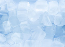 Schmelzende Eis-Würfel Lizenzfreie Stockbilder