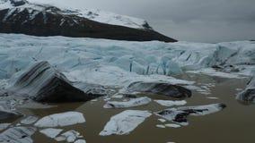 Schmelzende Gletscher in Island 4K stock footage