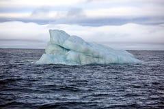 Schmelzender Eisberg im Nordpolarmeer Stockbilder