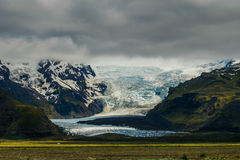 Schmelzender Gletscher Stockfotos
