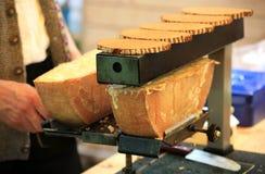 Schmelzender Käse stockfotos
