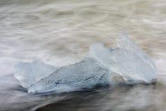Schmelzendes Eis 2 Stockfotografie