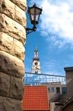 Schmelzverfahren von altem und modernem Riga Lizenzfreie Stockbilder