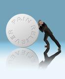 Schmerz-Entlastung Lizenzfreie Stockfotos