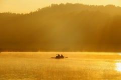 Schmerzgefühl-ung, Mae Hong Son, nördlich von Thailand Stockfoto