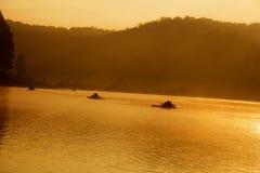 Schmerzgefühl-ung, Mae Hong Son, nördlich von Thailand Stockbilder