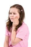 Schmerzlicher Zahn Stockfotos